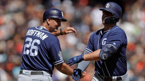 Padres rookie gets first career 2-HR game