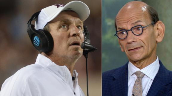 Finebaum doesn't envision Texas A&M upsetting Clemson