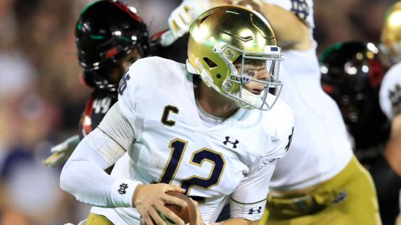Book leads Notre Dame past Louisville