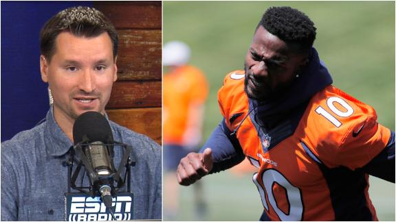 Clay tentative on Emmanuel Sanders