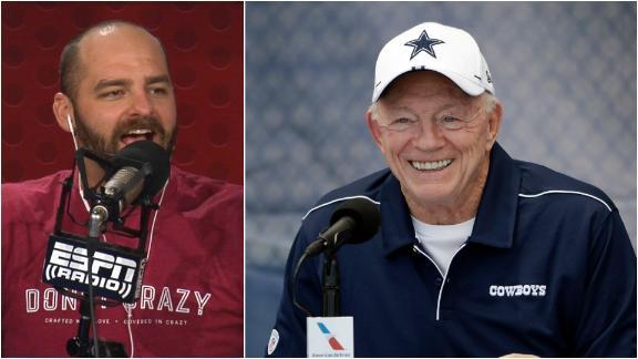 Golic Jr.: Jerry Jones wants all eyes on the Cowboys