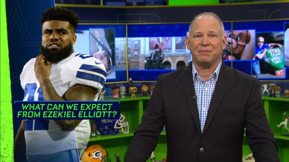 Berry: Zeke needs to be in your fantasy lineup Week 1