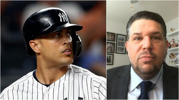 Yankees may face tough decision with Stanton in playoffs