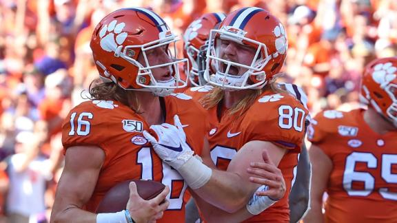 Top ranked Clemson takes down Texas A&M 24-10