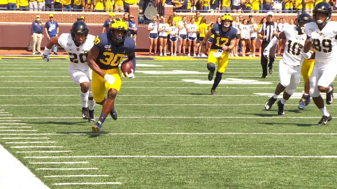 Michigan's fake punt leads to a TD