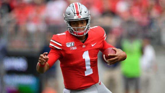 Fields' 4 TDs lead Ohio State to victory