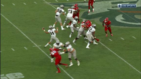 Gabriel goes deep to Harris for UCF TD
