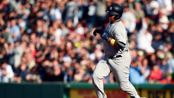 Encarnacion sends 2-run homer over Green Monster