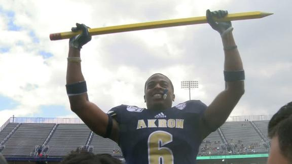 Akron debuts turnover pencil