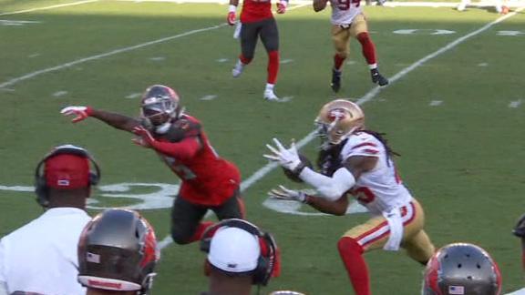 Sherman intercepts Winston for 31-yard touchdown