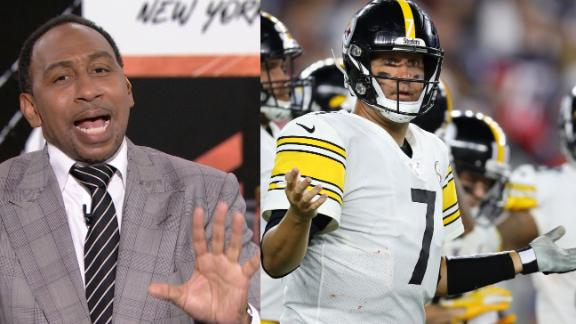 Stephen A. disgusted with the Steelers