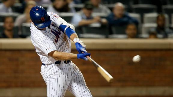 Alonso launches two homers in Mets' win
