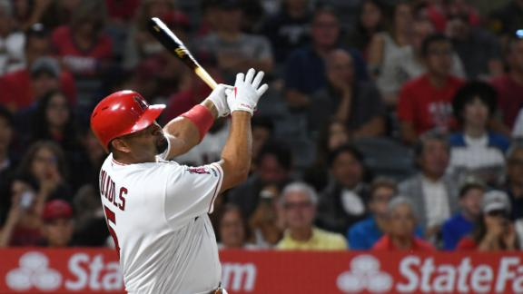 Pujols goes deep for Angels in loss