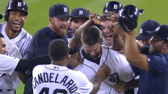 Mercer's walk-off single lifts Tigers past Yankees