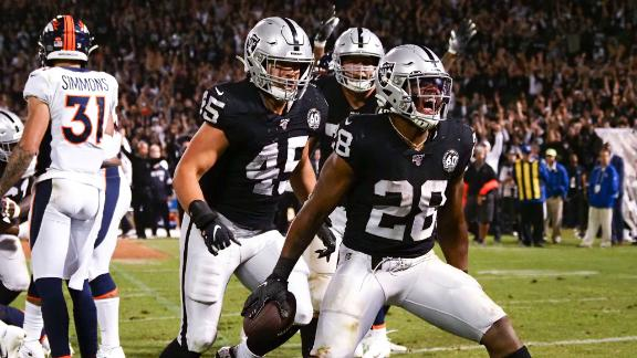 Raiders rally around new centerpieces in wake of AB drama
