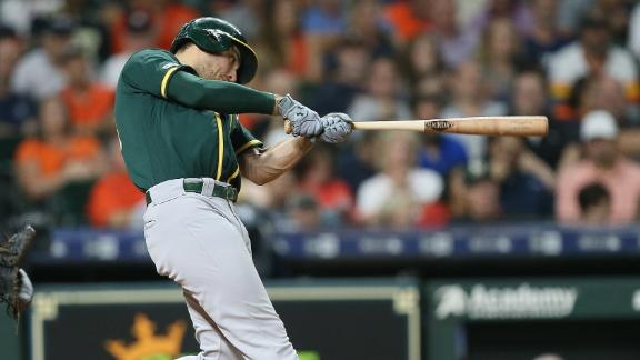 Olson blasts 2-run homer