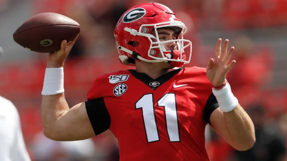 Fromm throws 3 TDs in Georgia's blowout win