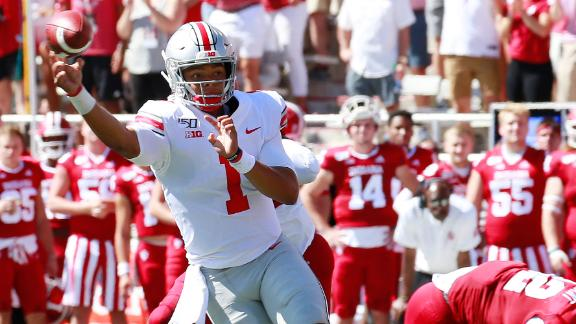 Fields leads Ohio State to victory