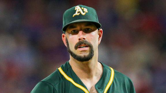 Fiers shows off interesting facial hair choice