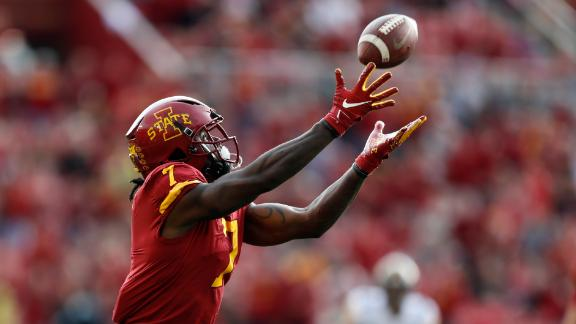 Iowa State scores game's first TD with trick play