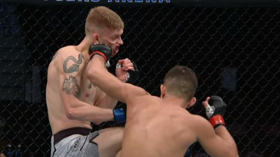 Smolka clips MacDonald with left hook
