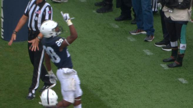 Brown's big run sets up Ford's TD for Penn State