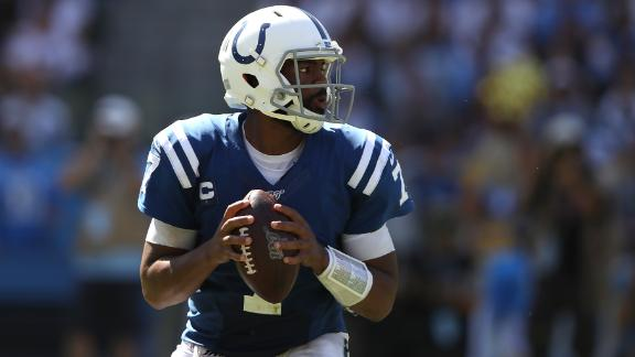 Brissett throws 3 TDs in win over Titans