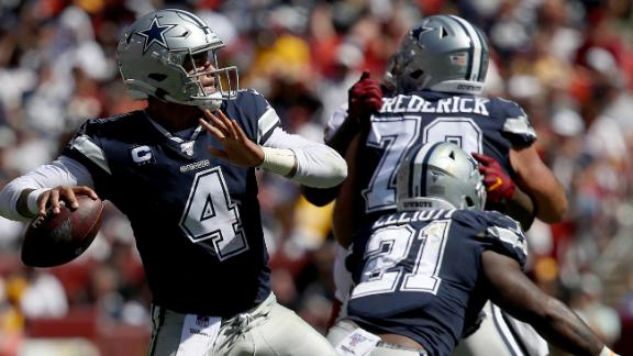 Dak propels Cowboys to big win on the road