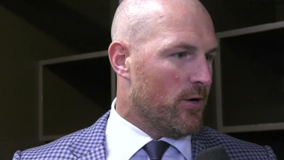 Witten reflects on expectations after two games back