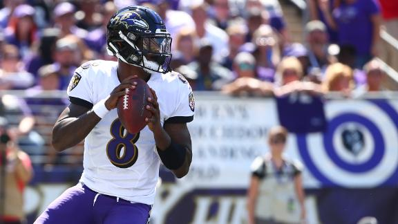 Jackson leads Ravens past Cardinals