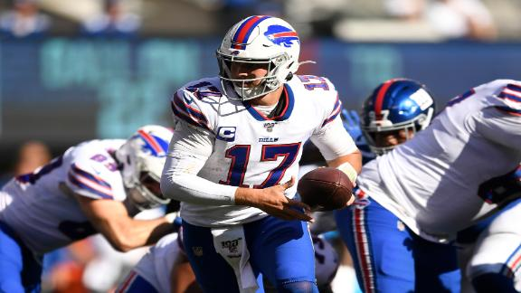 Allen shines as Bills go 2-0