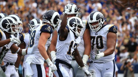 Rams offense overpowers Saints