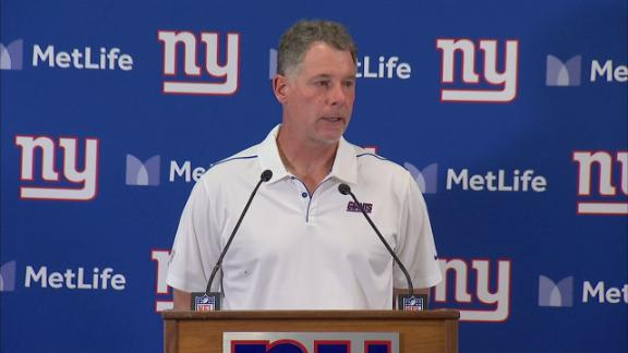 Shurmur: Giants aren't considering changing QBs right now