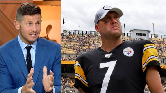 Orlovsky: The Steelers 'are in a world of hurt'