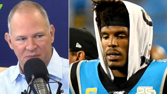 Berry 'panicked' about Cam Newton