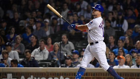 Schwarber HR powers Cubs past Reds
