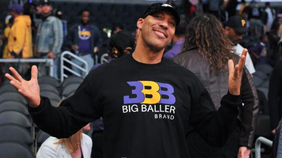 Lonzo, LaVar bicker over Big Baller Brand