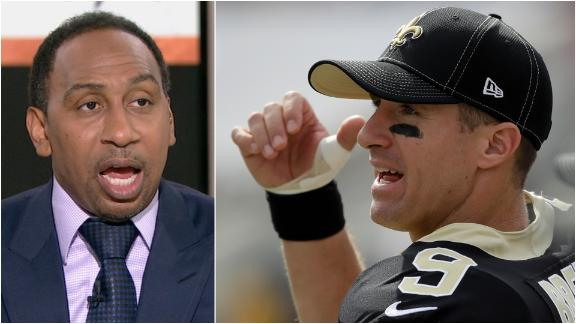 Stephen A.: 'The Saints are done without Drew Brees, period'