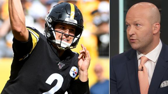 Hasselbeck: Rudolph could be Steelers' starter beyond 2019