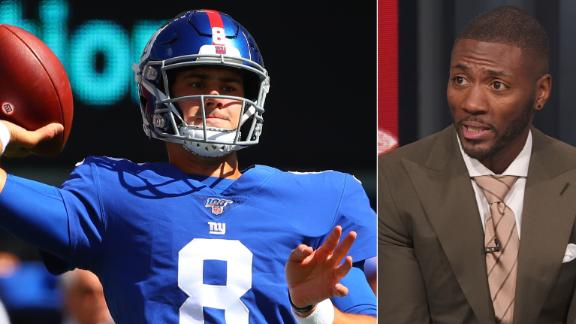 Clark: Starting Jones wouldn't be a reflection of Eli's performance
