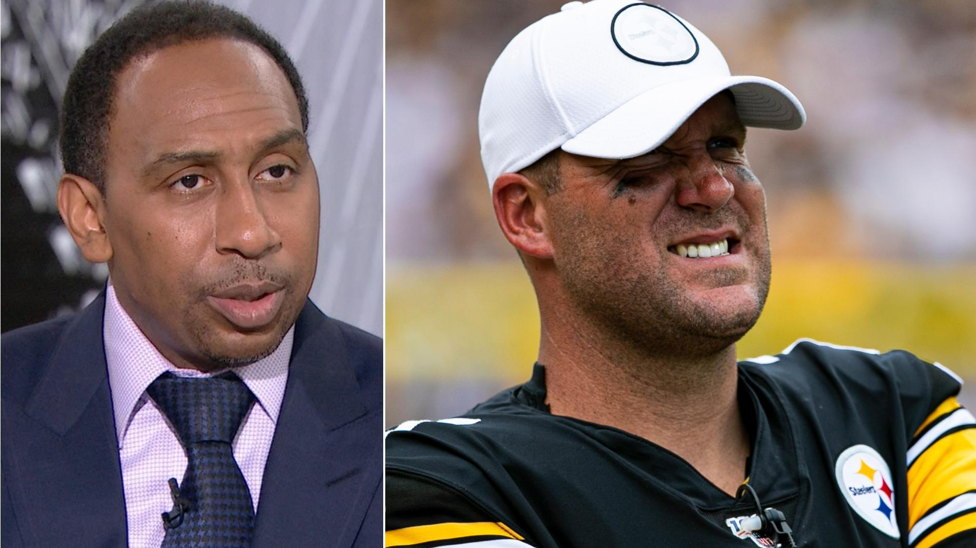 Stephen A.: The Steelers' season is over without Big Ben