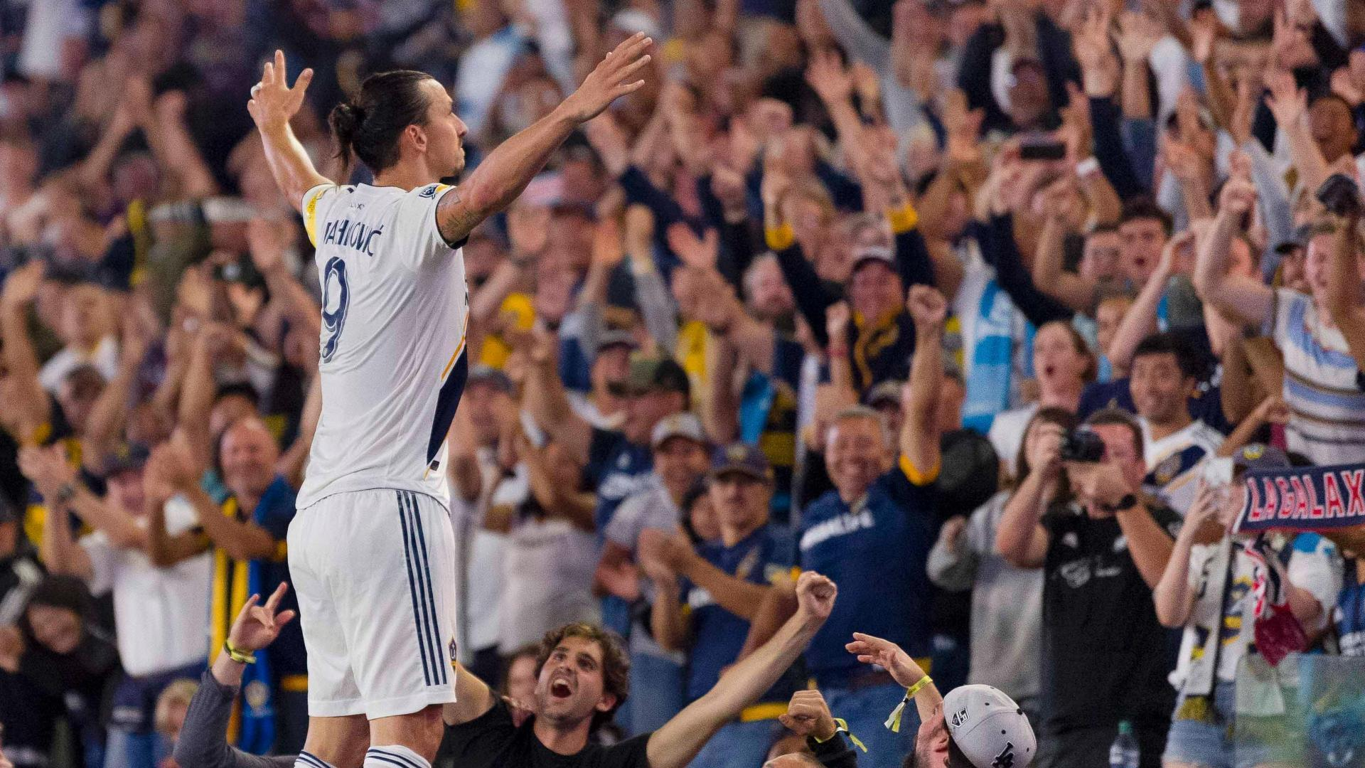 Zlatan makes history, Galaxy score 7 vs. Sporting KC