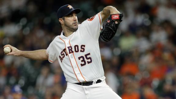 Verlander fans 8 in Astros' win