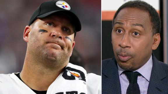 Stephen A.: Steelers' season is over