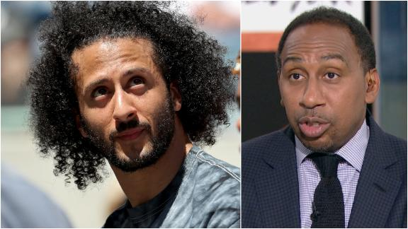 Stephen A.: Kaepernick would return as a backup