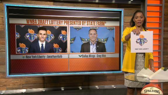 Liberty land No. 1 draft pick in WNBA Draft Lottery