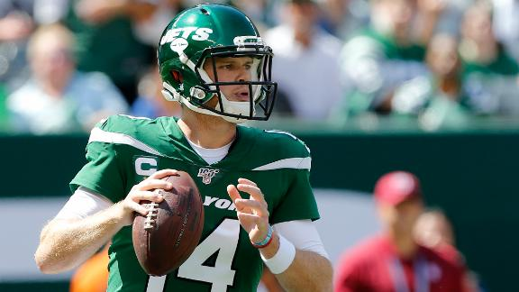 Darnold: 'My body shut down' after game vs. Bills