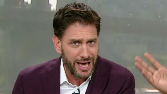 Greeny can't control his frustration with the Jets