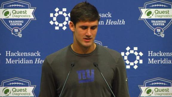 Jones: Eli has been nothing but supportive