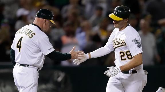 A's take over in the 7th
